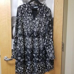 Long sleeve shirt dress #20